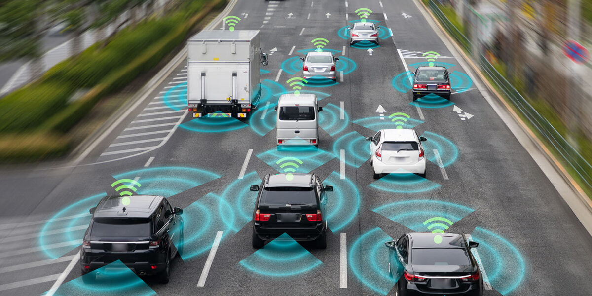Sensing system and wireless communication network of vehicle. Au